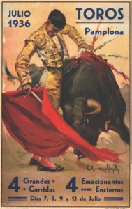 CARTEL DE LA FERIA DE 1936. Histórico Carteles.