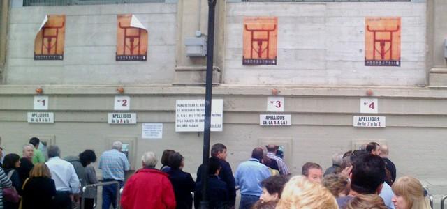 Renovación completa de los abonos de la Feria del Toro 2013