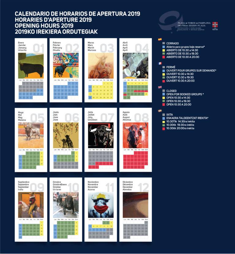 Calendario Apertura 2019