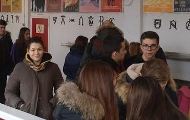 estudiantes visitando plaza de toros